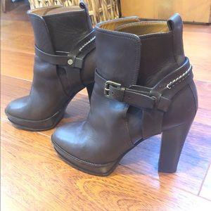 Ralph Lauren brown booties, boots